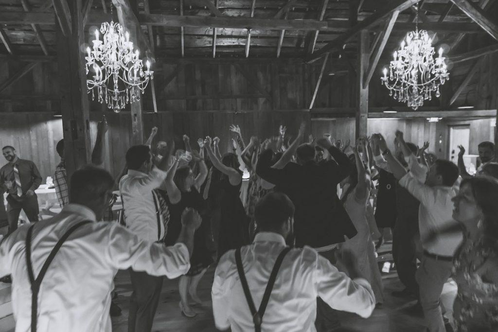 Maine Wedding DJ, DJ Greg Young, traveled to Bear Mountain Inn to provide DJ services