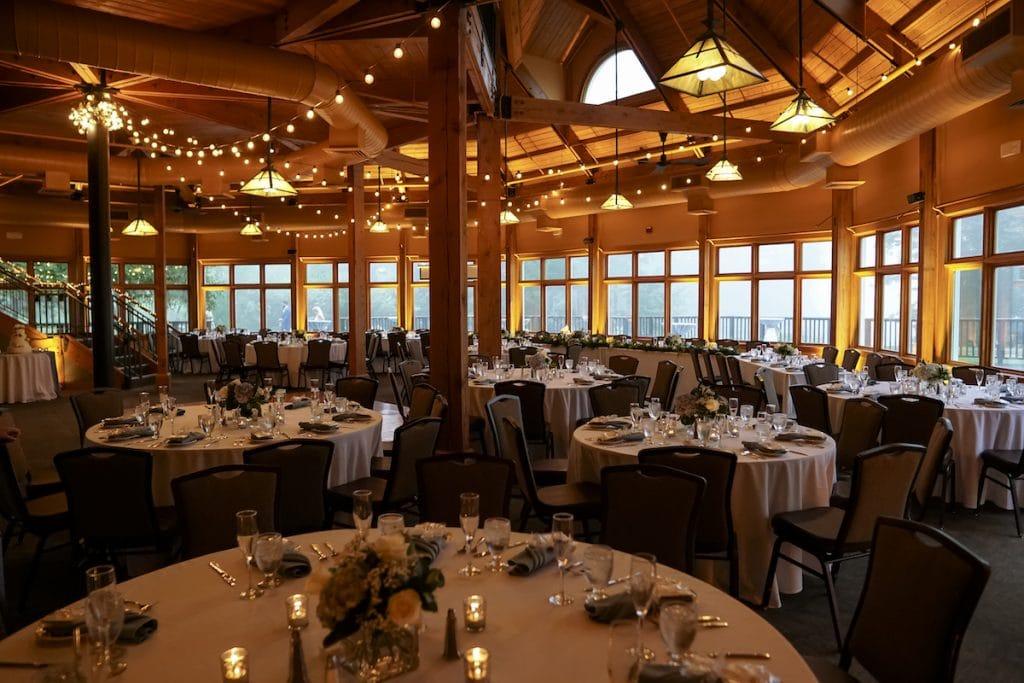 Maine Wedding Uplighting