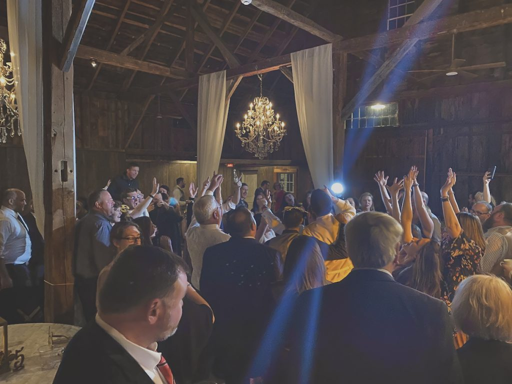 Bear Mountain Inn Waterford Maine Wedding DJ